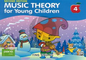 Ying Ying Music Theory for Young Children Vol.4 Piano (2nd. ed.)