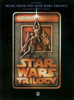 Williams The Star Wars Trilogy - Easy Piano (Special Edition) (Coates)