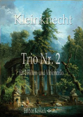 Kleinknecht Trio No.2 2 Flöten und Violoncello (B.c.)