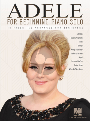 Adele for Beginning Piano