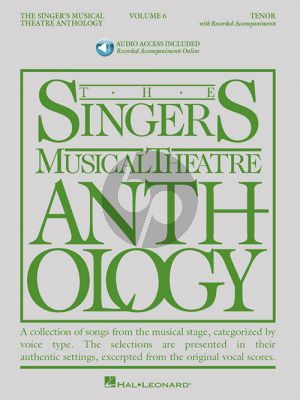 The Singer's Musical Theatre Anthology Vol.6 Tenor