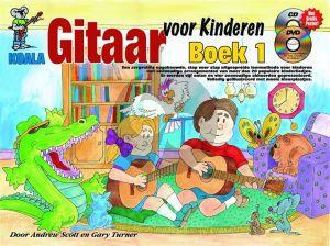 Scott-Turner Gitaar Voor Kinderen Boek 1 Boek-CD-DVD