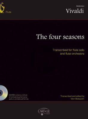 Vivaldi 4 Seasons (4 Stagioni) Op.8 No.1-4 transcribed for Flute