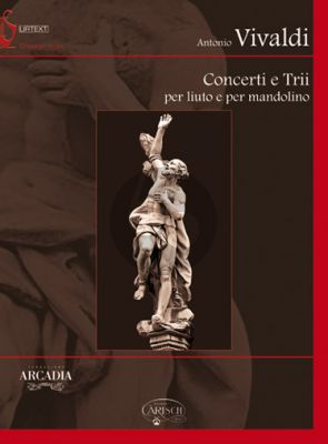 Vivaldi Concerti e Trii per Liuto e Mandolino Full Score Bk-Cd