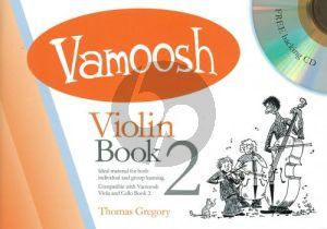 Gregory Vamoosh Violin Book 2 (Bk-Cd)