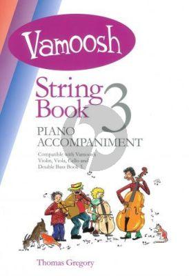 Gregory Vamoosh String Book 3 Piano Accompaniments