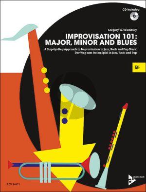 Yasinitsky Improvisation 101: Major, Minor and Blues