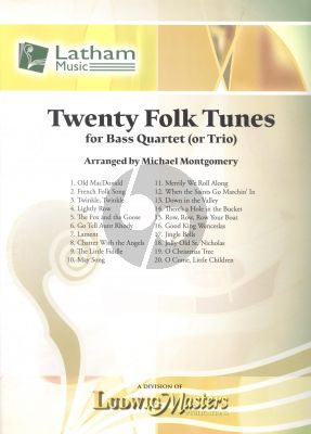 20 Folk Tunes 4 Double Basses (Score/Parts)