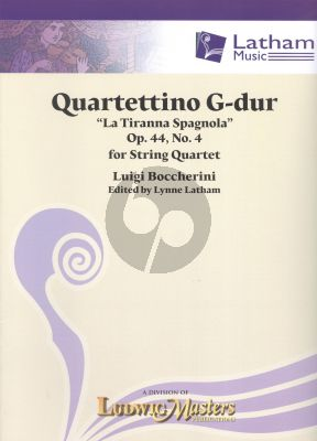 Boccherini Quartettino G-major (La Tiranna Spagnola) Op.44 No.4