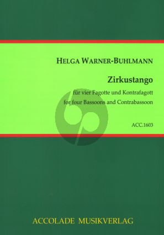 Warner-Buhlmann Zirkustango 4 Fagotten und Kontrafagott (Part./Sti)
