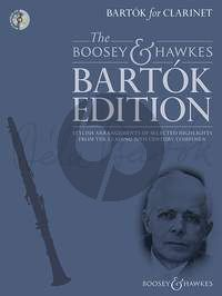 Bartók for Clarinet Bk-Cd