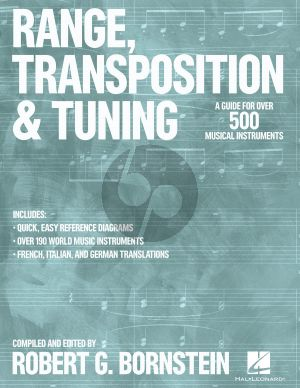 Bornstein Range, Transposition and Tuning