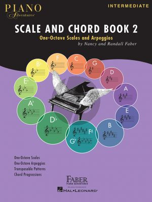 Faber Piano Adventures Scale and Chord Book 2