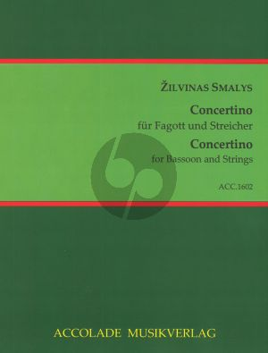 Smalys  Concertino Bassoon-String Orch. (piano red.)