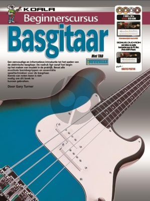 Turner Beginnerscursus Basgitaar (Bk-CD-DVD)