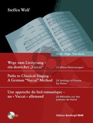 """Wolf  Wege zum Liedgesang - ein deutscher """"Vaccai"""" Hohe Stimme"""