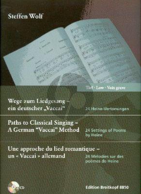 """Wolf  Wege zum Liedgesang - ein deutscher """"Vaccai"""" Tiefe Stimme"""