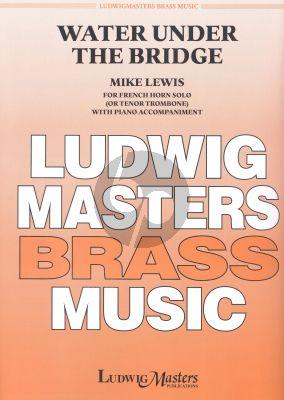 Lewis Water under the Bridge Horn[Tenor Trombone]-Piano