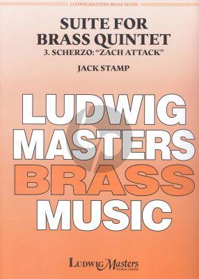 Stamp  Suite for Brass Quintet No.3 Scherzo: Zach Attack Brass Quintet