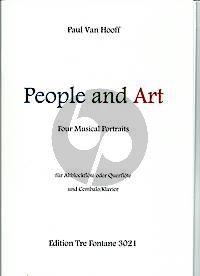 van Hooff People and Art Altblockflöte (oder Querflöte) + Cembalo (oder Klavier)