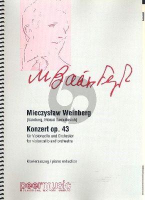 Weinberg Concerto Op.48 Violoncello