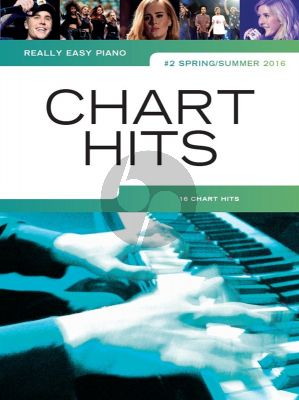 Really Easy Piano: Chart Hits Vol. 2 (Spring/Summer 2016)