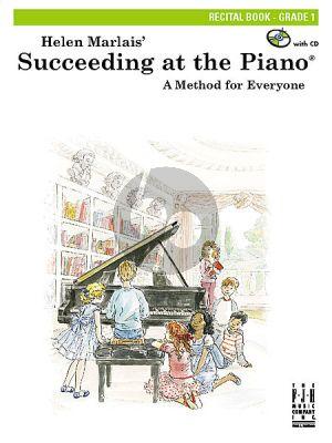 Marlais  Succeeding at the Piano, Recital Book Grade 1 (Bk-Cd)