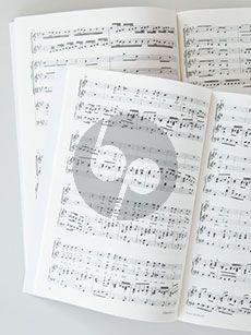 Bach Luther-Lieder in Sätzen J. S. Bachs für vierstimmige Satze) Chorbuch