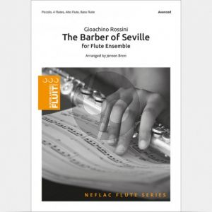 The Barber of Seville (Piccolo- 4 Flutes[C]-Alto Flute-Bass Flute)