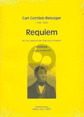 Reissiger Requiem d-moll Soli-Chor-Orch. Klavierauszug