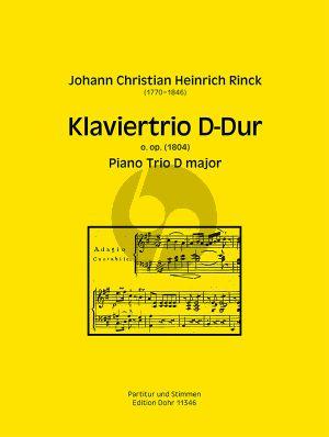 Rinck Trio D-dur O.Op. (1804) Violine-Violoncello-Klavier