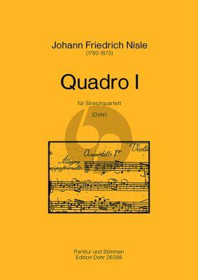 Nisle Quadro I g-moll 2 Vi.-Va.-Vc. (Part./Stimmen)