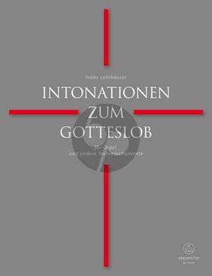 Intonationen zum Gotteslob für Orgel und andere Tasteninstrumente