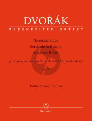 Dvorak Serenade E-major Op.22 String Orchestra Full Score