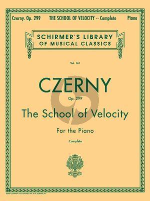 Czerny The School Of Velocity Op.299 Piano