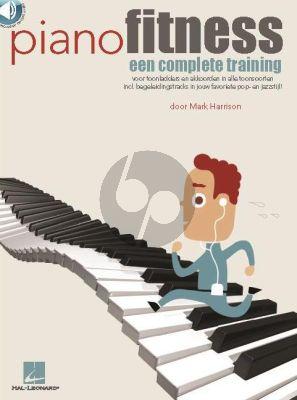Harrison Piano Fitness (Een complete training) (Boek met Audio online)