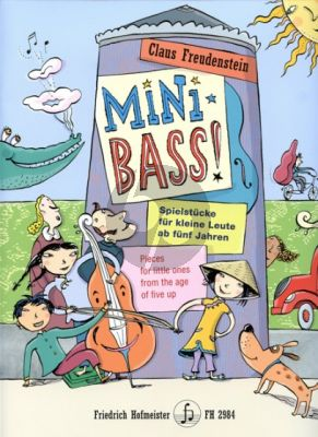 Freudenstein Mini Bass! (pieces for little ones from the age of five up)