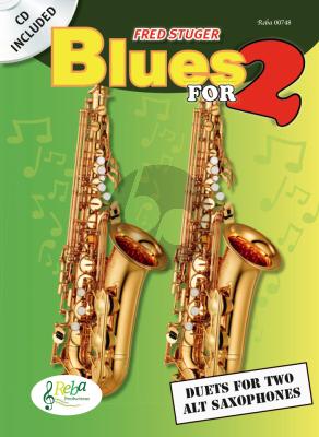 Stuger Blues for Two (2 Alto Saxophones) (Bk-Cd)
