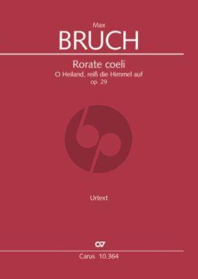 Bruch Rorate coeli Op.29 KA