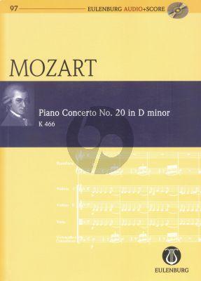 Mozart Concerto No.20 d-minor KV 466 Piano-Orch. Study Score
