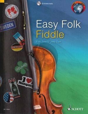 Easy Folk Fiddle (Bk-Cd) (edited by Vicki Swan and Jonny Dyer)