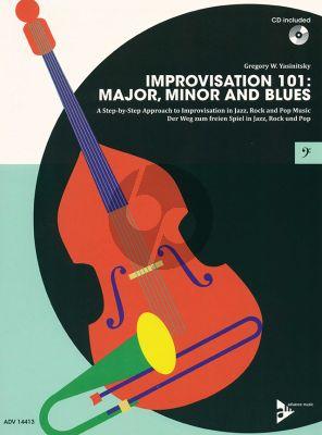 Yasinitsky Improvisation 101: Major, Minor and Blues Bass clef