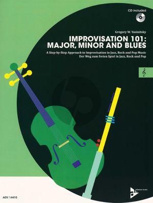 Yasinitsky Improvisation 101: Major, Minor and Blues C Instr.