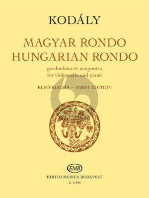 Kodaly Hungarian Rondo Violoncello-Piano (edited by Miklos Perényi)
