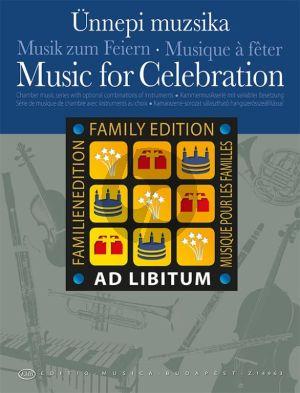 Music for Celebration for mixed ensemble (Score/Parts)