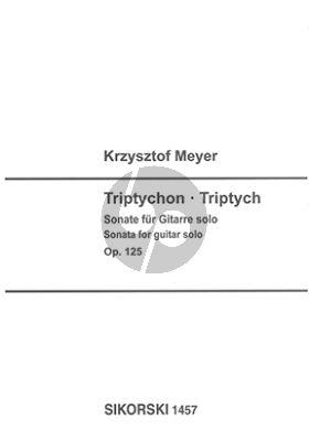 Meyer Triptychon (Sonata Op.125) for Guitar