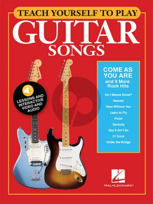 Teach Yourself To Play Guitar Songs: Come As You Are and 6 more Rock Hits