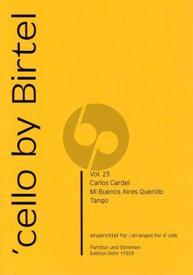 Gardel Mi Bueno Aires Querido 4 Violoncellos (Part./Stimmen)