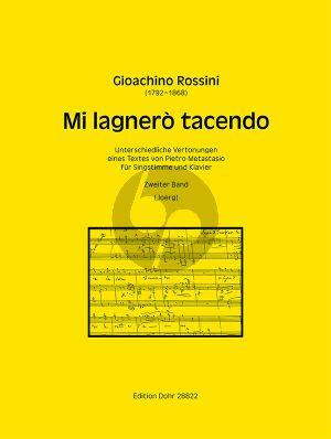 Rossini Mi lagnerò tacendo zweiter Band