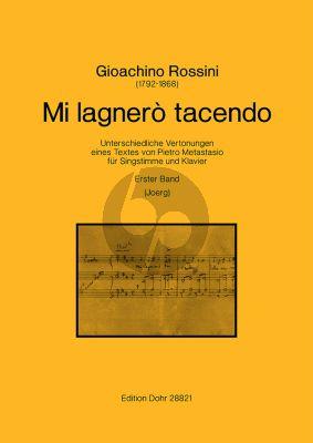 Rossini Mi lagnerò tacendo Erster Band